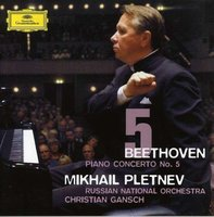 Audio CD Mikhail Pletnev, Russian National Orchestra, Gansch. Beethoven. Piano Concerto No.5