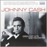 LP Johnny Cash. Greatest Hits And Favorites (LP)