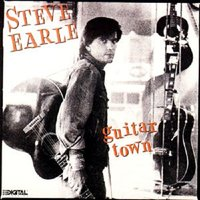 LP Steve Earle. Guitar Town (LP)