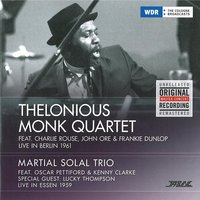 LP Thelonious Monk Quartet / Martial Solal Trio. Live In Berlin 1961 / Live In Essen 1959 (LP)