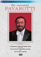 DVD Luciano Pavarotti. The Essential-Live At The Alb