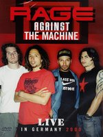 DVD Rage Against The Machine. Live in Germany 2000