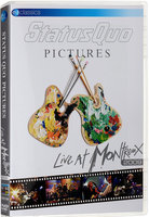 DVD Status Quo. Pictures-Live At Montreux