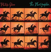 LP Philip Glass. The photographer (LP)
