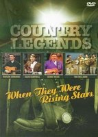DVD Various artists. Country Legends - When They Were Rising Stars
