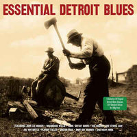 LP Various Artist. Essential Detroit Blues (LP)