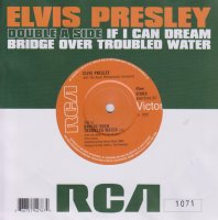LP Elvis Presley. If I Can Dream / Bridge Over Troubled Water (LP)